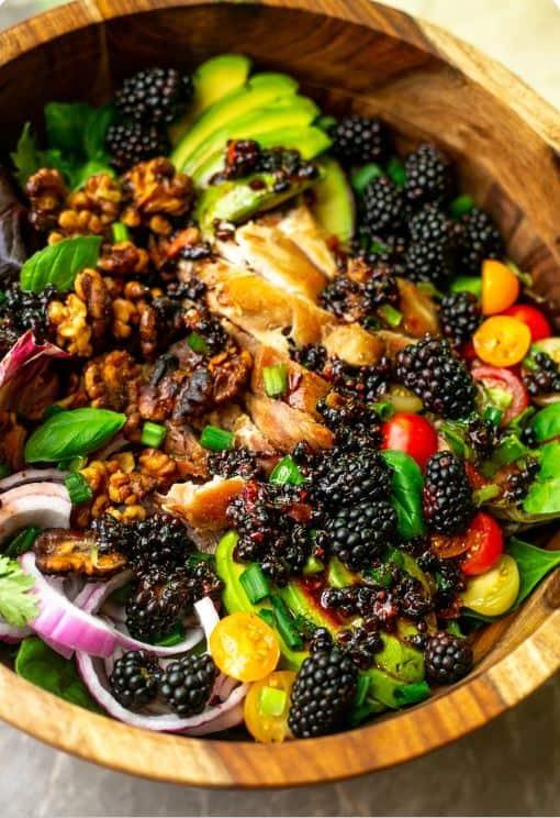 סלט ירקות עשיר בקולגן פלוס