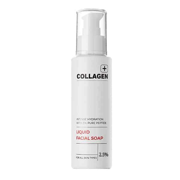 סבון נוזלי לעור הפנים קולגן